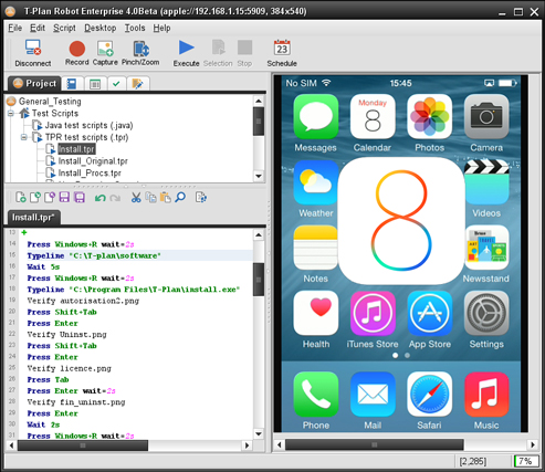 iOS 8 Test Automation